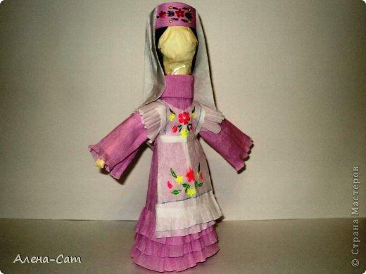 Татарский астраханский костюм молодой девушки фото 1