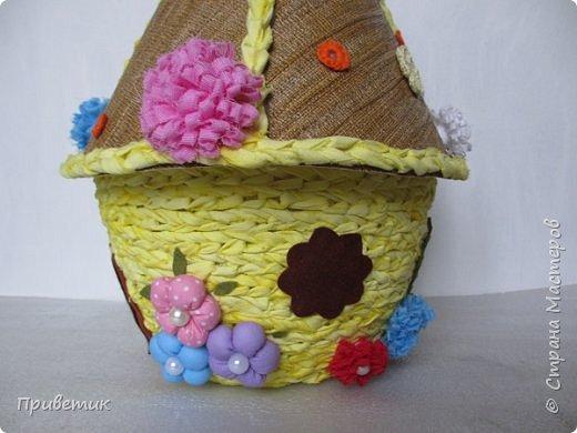 Для конкурса мной был сделан уютный домик-улей. А как же иначе? в Стране Мастеров есть Пчелки, значит у них есть улей. фото 10