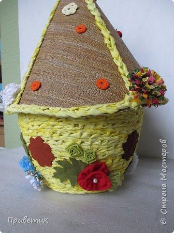 Для конкурса мной был сделан уютный домик-улей. А как же иначе? в Стране Мастеров есть Пчелки, значит у них есть улей. фото 11