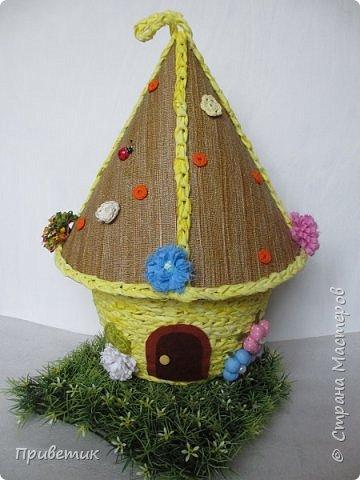 Для конкурса мной был сделан уютный домик-улей. А как же иначе? в Стране Мастеров есть Пчелки, значит у них есть улей. фото 12