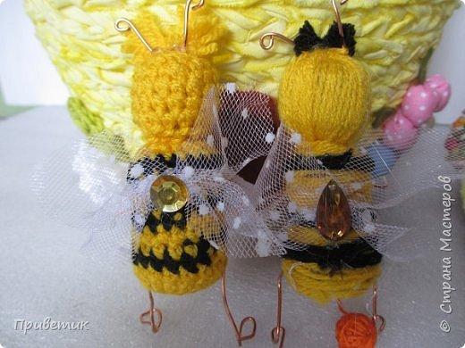 Для конкурса мной был сделан уютный домик-улей. А как же иначе? в Стране Мастеров есть Пчелки, значит у них есть улей. фото 14