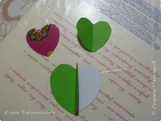 Арина для класса сделала дома дерево пожеланий. Ведь в день Святого Валентина хочется желать самого хорошего. фото 3