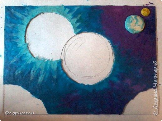 """Далекое будущее. Экипаж отважных космолётчиков возвращается домой после долгого странствия. Путь космического корабля пролегает мимо заселенных планет Солнечной системы. Солнышко ласково улыбается героям, а Земля уже """"в иллюминаторе видна"""" вместе со своим извечным спутником, Луной. Долгая дорога домой завершена! фото 4"""