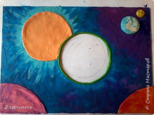 """Далекое будущее. Экипаж отважных космолётчиков возвращается домой после долгого странствия. Путь космического корабля пролегает мимо заселенных планет Солнечной системы. Солнышко ласково улыбается героям, а Земля уже """"в иллюминаторе видна"""" вместе со своим извечным спутником, Луной. Долгая дорога домой завершена! фото 5"""