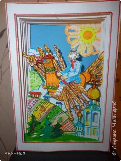 """Во многих сказках отражается мечта человека к полету - это баба Яга в ступе и на метле, Иван-царевич на крылатом коне, летучий корабль, полет на ядре Мюнхгаузена, мне же захотелось сделать русского мастерового- столяра из сказки """"Деревянный орел"""". А орел,чем не прообраз самолета. фото 1"""