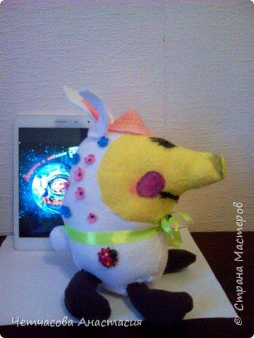 Здравствуйте, дорогие жители страны мастеров . Сегодня я вам представляю зверька Бузибара с планеты Миран.  фото 4