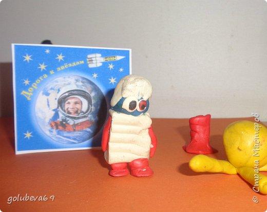 """На занятии кружка """"Страна Мастерляндия"""" мы с ребятами решили отправится на неизведанную и далёкую планету Марс и познакомиться с её обитателями. Для работы по созданию жителей планеты решили взять пластилин. Фантазия у ребят разыгралась и вот что из этого получилось. фото 3"""