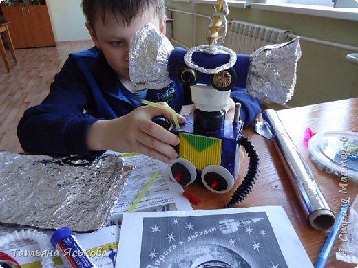 Вас приветствует робот Ди. Почему ДИ? Потому что это не простой робот, а двусторонний.. Он создан Владом, для освоения космического пространства и налаживания контактов с разумными цивилизациями. фото 7