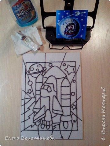 """Саше очень интересна тема """"Космические корабли и ракеты"""". Он решил нарисовать «Буран» — орбитальный корабль-ракетоплан. фото 3"""