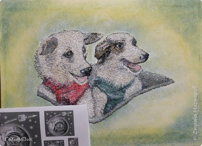 """Советские собаки-космонавты Белка и Стрелка - первые животные, совершившие суточный космический полет, сделав вокруг Земли 17 полных витков на корабле """"Спутник-5"""" 19 августа 1960 г. фото 7"""