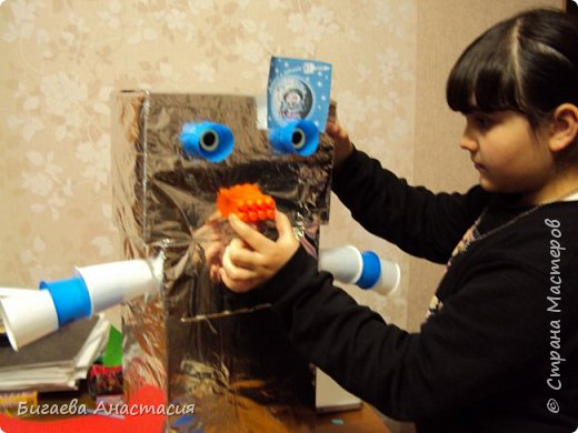 Робот Вертер- добрый помощник фото 7