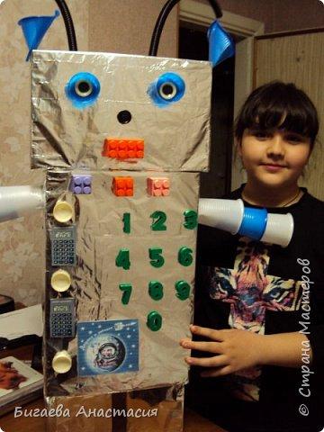 Робот Вертер- добрый помощник фото 13