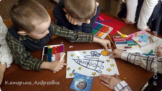 Мы впервые решили участвовать в конкурсе. Тема космоса нам очень интересна, потому что мы земляки Юрия Алексеевича Гагарина.  фото 3