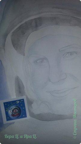 Свою работу я посвящаю моей землячке - Валентине Владимировне Терешковой - первой в мире женщине-космонавту. Свой полёт  Терешкова совершила 16 июня 1963 года на космическом корабле Восток-6, он продолжался почти трое суток. Всем известны позывной  Валентины Владимировны на время полёта - «Чайка» - и фраза, которую она произнесла перед стартом: «Эй! Небо! Сними шляпу!». фото 3