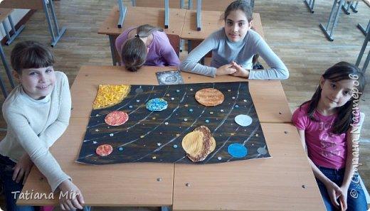 """Это наша готовая поделка """"Чудеса Солнечной системы"""" фото 4"""
