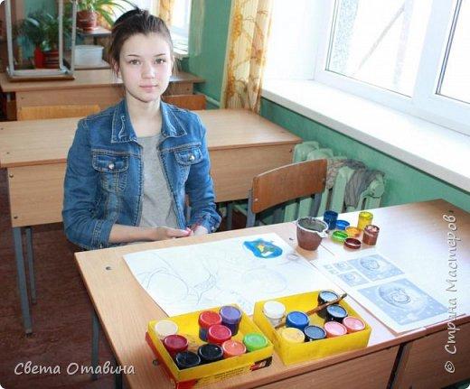 """Ульяне я  предложила поучаствовать в конкурсе """"Дорога к звездам"""". Девочке нравится рисовать, она заинтересовалась этой темой.  фото 3"""