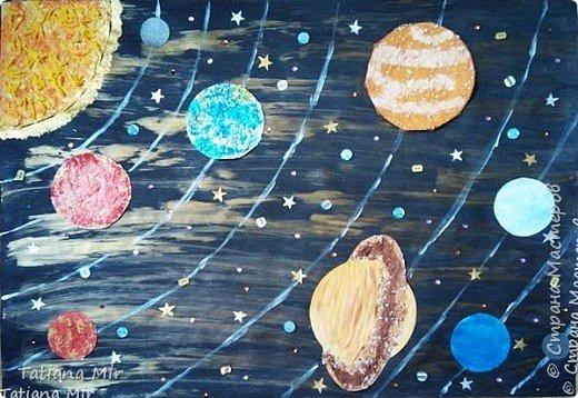 """Это наша готовая поделка """"Чудеса Солнечной системы"""" фото 1"""