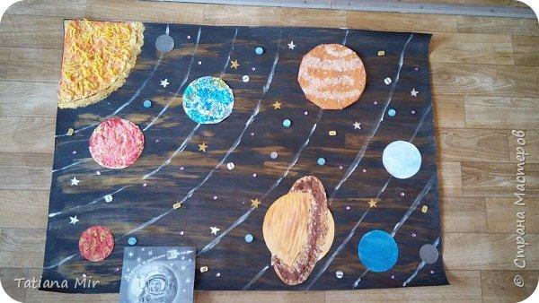 """Это наша готовая поделка """"Чудеса Солнечной системы"""" фото 12"""