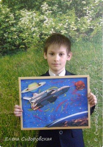 """Картина в 3D """"Буран"""". Первый и единственный полет... фото 7"""