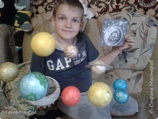 Модель Солнечной системы фото 5