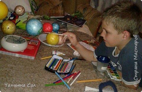 Модель Солнечной системы фото 4