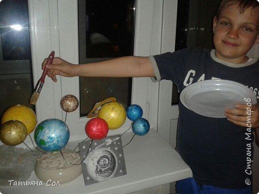 Модель Солнечной системы фото 6