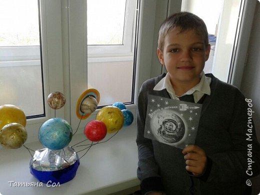 Модель Солнечной системы фото 7