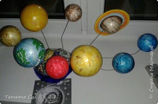 Модель Солнечной системы фото 1