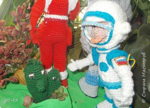 Внимание, внимание! Сегодня, в день 55-летия первого  полёта в космос землянина Юрия Гагарина, первая межпланетная космическая экспедиция докладывает: есть контакт с внеземной цивилизацией! фото 12