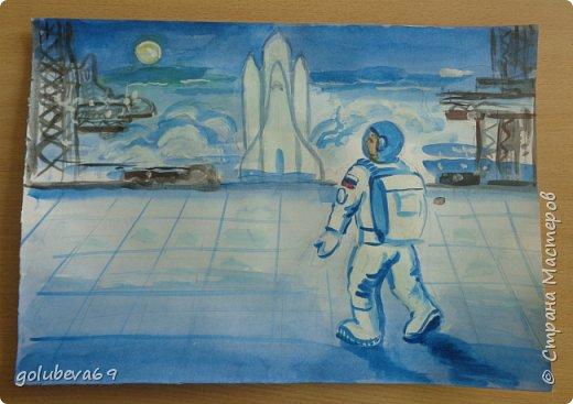 Космонавт готов к полету. фото 1