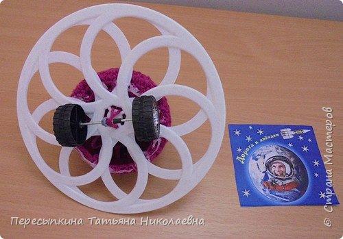 Вот такая космическая тарелочка для полёта в будущее. фото 6