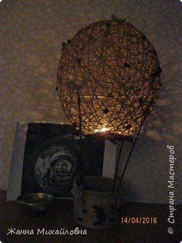 """Воздушный шар """"Очарование"""", украшение для дома, аромалампа и ночник. фото 3"""
