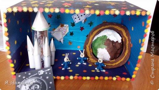 Когда Маша и Даша узнали о далёком космосе никто не знает. Они думали о далёких планетах, текут ли там реки, растут ли деревья и есть ли там жизнь. Для этого они слепили маленьких космонавтиков и отправили в космос. фото 1