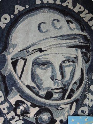 Прочитав номинации конкурса , я сразу решила, что буду делать портрет Ю.А, Гагарина. Для меня Юрий Гагарин-герой, символ эпохи, гордость нашей страны. фото 2