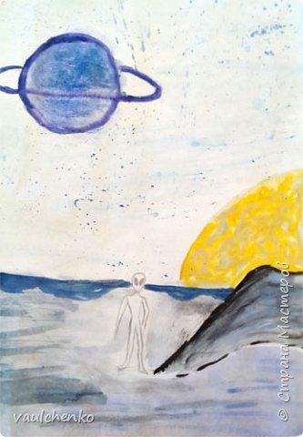 Удивительный и таинственный мир других планет... Таким его увидела Маша. фото 1