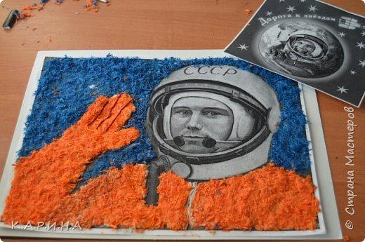 Портрет Ю.А.Гагарина фото 5