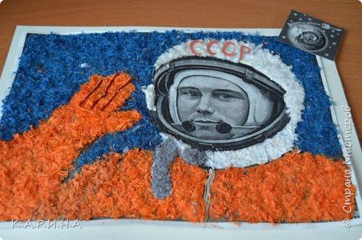Портрет Ю.А.Гагарина фото 8