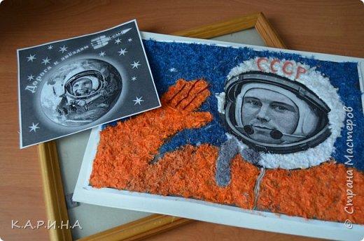 Портрет Ю.А.Гагарина фото 9