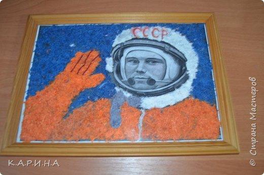Портрет Ю.А.Гагарина фото 1