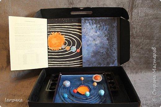 """Данная игра поможет быстрее изучить планеты Солнечной системы.  Итак, перед вами  """"чемоданчик"""" и макеты планет.  фото 4"""