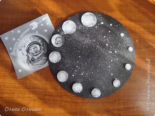 """Вот такие часы """"Парад планет"""" получились у Яны. фото 3"""