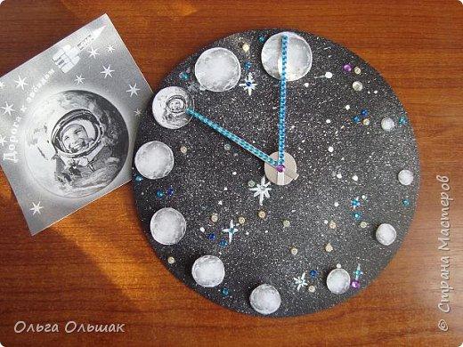 """Вот такие часы """"Парад планет"""" получились у Яны. фото 4"""