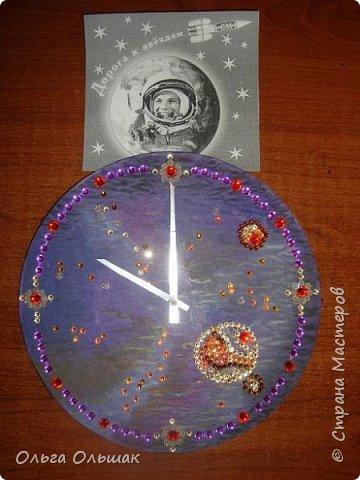 Диана вот так представляет космическое пространство в своих часах. фото 3