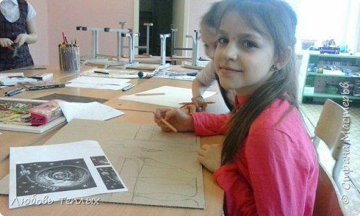 """Источник вдохновения - картина Ван Гога """"Звездная ночь"""" фото 2"""