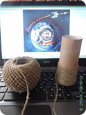 Ракеты всякие нужны, Ракеты всякие важны! Вот и моя ракета готова к своей работе! Приготовились.......внимание......на старт....... фото 3