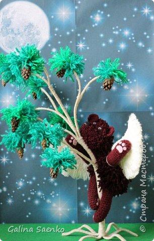 Помните известное всем детское произведение Корнея Чуковского «Топтыгин и луна»? Именно оно и вдохновило на творчество. Лера изобразила в своей композиции мечты о полете главного героя – медведя Топтыгина. фото 1