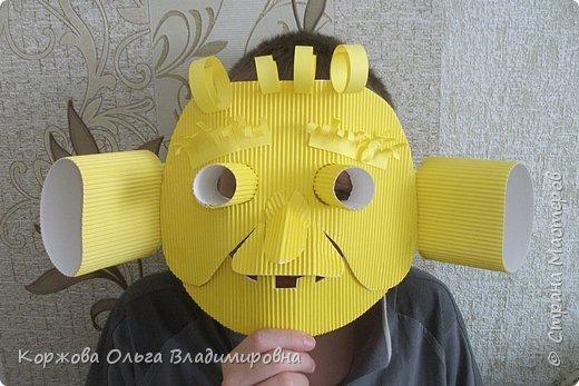 Листая подшивку детских журналов, захотелось сделать эту маску. Сейчас она кажется забавной.  А ведь  55 лет пролетели как один день. фото 1