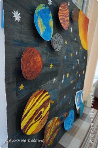 Наша Солнечная система-это наш дом в бесконечной Вселенной. Поэтому мы решили сделать ее макет. фото 7