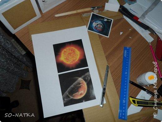 """Игра -викторина """"Космос"""" представляет собой набор из шести кубиков. На гранях изображения - вопросы. Шесть граней отражают шесть тем космонавтики.(Вопросы викторины и ответы смотрите далее) фото 10"""