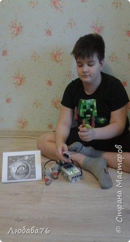"""Вот такой """"Юпитероход"""" собрал Даниил для конкурса """"Дорга к звездам"""", используя детали конструктора """"Лего"""" фото 3"""